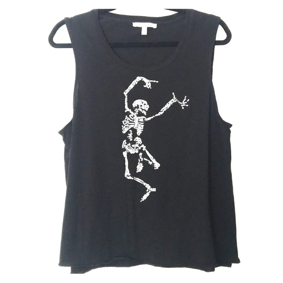 🖤💀ladies Express skeleton muscle tank